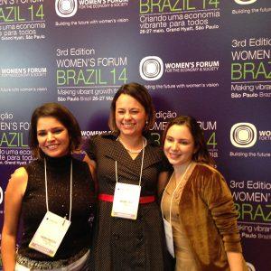 2014.5 Women Forum Fabiana, Marianne e Mariana