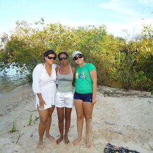 2009.1 Encontro em Santarém (Projeto Destino Referência) Renata, Lucila e Marianne