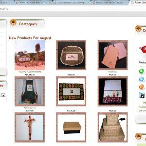 2009.10 Loja virtual