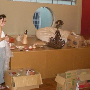 2010.2 O estoque de artesanatos é abrigado no HUB São Paulo