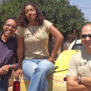 2011.10 Lucila embarca em uma expedição pelo Pantanal para mapeamento de práticas sustentáveis