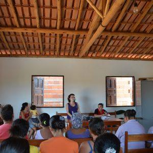 2011.9 Reuniões com a comunidade de Campo Buriti e Coqueiro Campo para início o projeto de Turismo de Base Comunitária