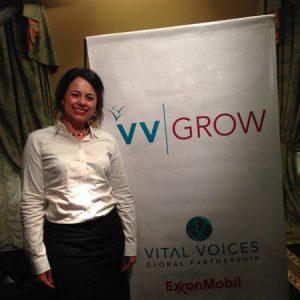 2014.10 Marianne participa do programa VVGrow na Argentina