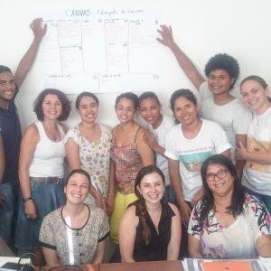 2015.3 Jussara e Mariana qualificam os jovens e apoiam a criação da Fabriqueta de Turismo de Araçuaí