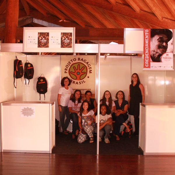 2015.9 Super equipe de organização e apoio do II Turisol - Jussara, Ana Beatriz, Paula, Mariana, Marianne, Gabi, Lucila e Mayra