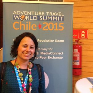 2015.18 Marianne participa de evento para operadores de viagem no Chile