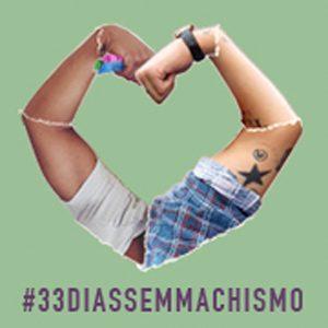 2016.06 Marianne participa do coletivo que cria a campanha 33 dias sem machismo